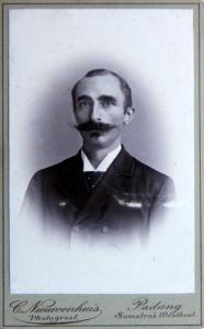 Portret van C. Nieuwenhuis