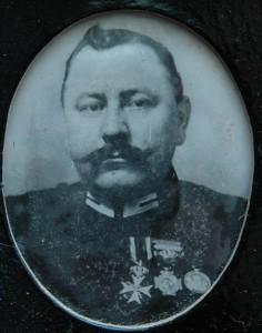 Sergeant A. Stam, Korps Marechaussee Indisch leger